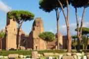 Termas de Caracalla - Viaje a Roma