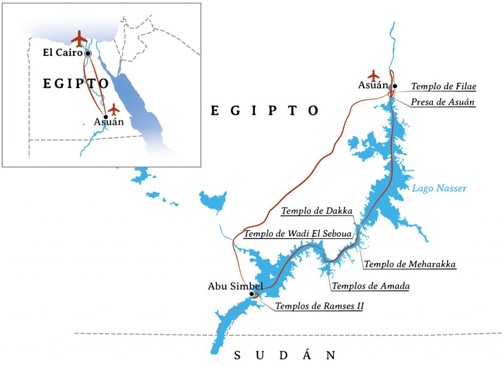 Itinerario-Viaje-Egipto-frontera-sur-y-baja-nubia